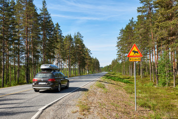 Traveling by car in Finland