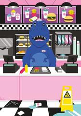 Dinosaur Fast Food