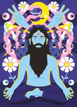 Trippy Meditation Free Your Mind