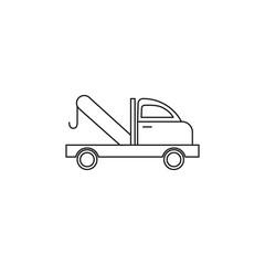 car tow service icon