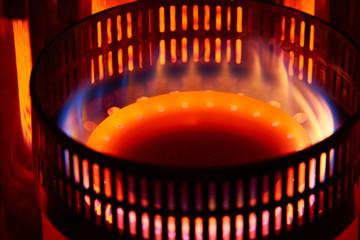 石油ストーブ 燃焼