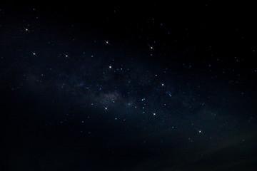 Sky and stars in night
