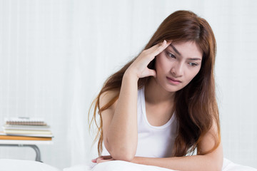 Women think so much about headaches.