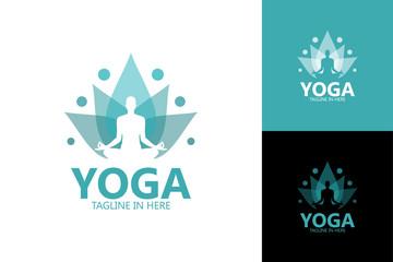 Yoga Logo Template Design