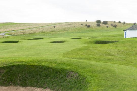Gullane Golf Club, East Lothian, Scotland