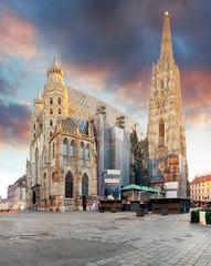 Vienna - St. Stephan cathedral, Austria, Wien