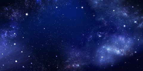 background of the night sky with stars Wall mural