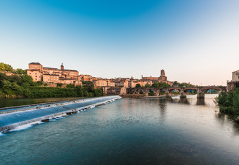 Tarn River in Albi, France