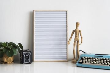 Letterboard template