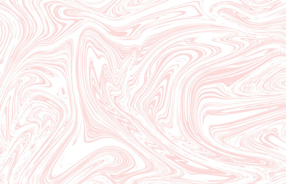 Light pink marble texture design. Vector background.
