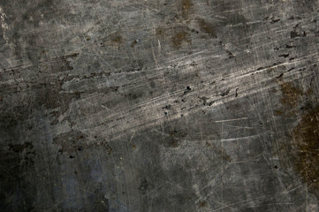 Metal background, texture of titanium, sheet of metal surface, steel, paint Wall mural