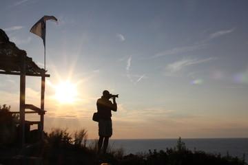 Tramonto, Mare, Sunset, Fotografia, Fotografo, Corsica, Landscape, Colori, Sun, Sole, Rosso, Francia