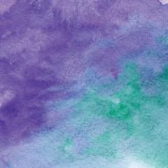 Purple Green Watercolor Background
