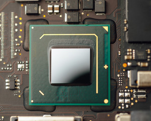cpu processor of an laptop