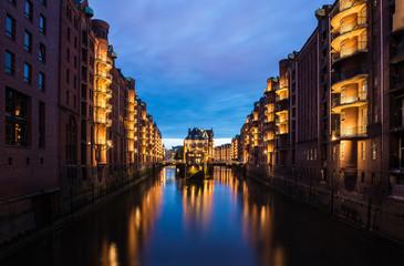 Warehouse District Hamburg, Wasserschloss