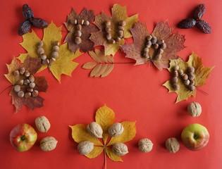 Коллаж , осень