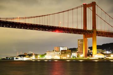 若戸大橋の夜景