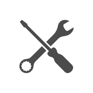Wrench & screwdriver icon