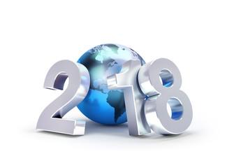 2018 Worldwide New Year