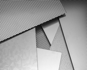 abstract metallic surfaces