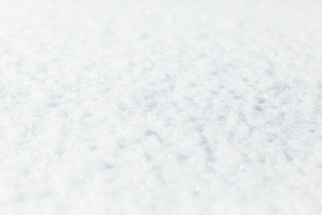 background, fresh snow texture in blue tone