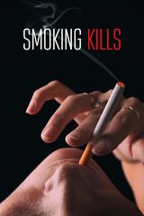 Smoking kills. Smoking girl