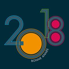 2018 - carte de vœux - vœux - bonne année - original - entreprise - présentation - créatif