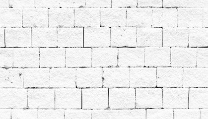 Close-up bright vintage brick wall background.