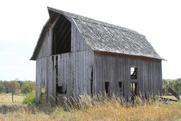 Old Barns in the Midwest