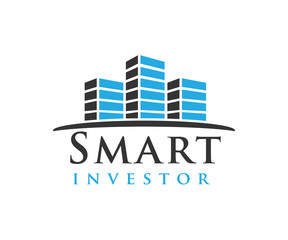 smart tower investor logo illuistraion