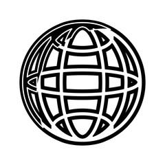 global planet vector illustration