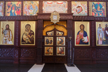 Christian church interior