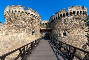 Famous fortress Kalemegdan in Belgrade