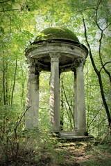 leśna świątynia
