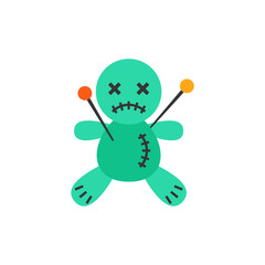 Voodoo Doll Vector Icon