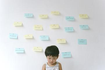 Instilling positive attitude in child
