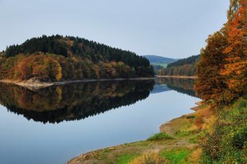 Herbst an Aggertalsperre - Aggertal