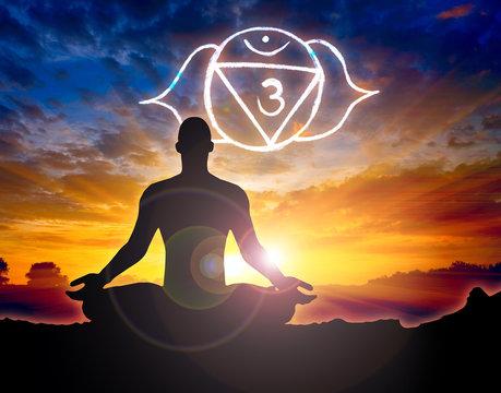 Meditation sixth chakra