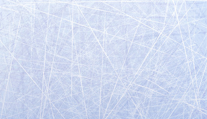 Textures blue ice. Ice rink. Winter background. Overhead view. Vector illustration nature background