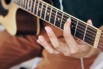 guitar, musician, strings