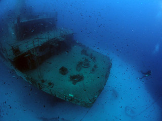 Um el Faroud Wreck, Wied iz-Zurrieq, Malta
