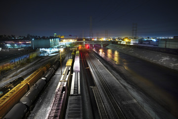 Los Angeles Train Yard