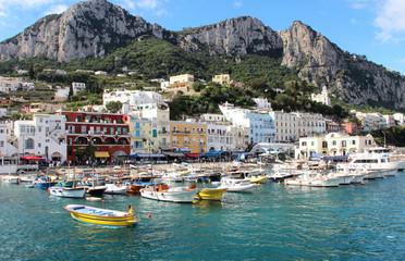 Capri, Marina Grande, Campania, Italy