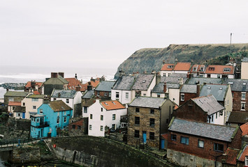 Staithes: English seaside town