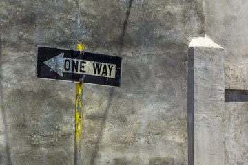 Just Another One Way Sign