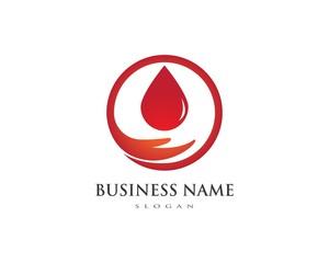 Blood logo icon