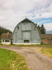 Blue Country Barn