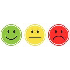 smiley icon vector