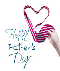 Father's Day, white background
