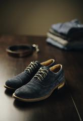 Still Life Shot Men's Shoes